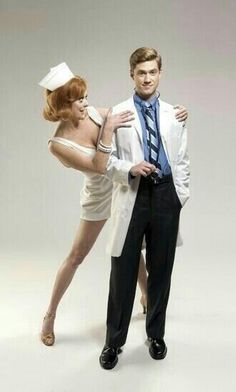 Aaron Tveit. Promotional shot for Catch Me If You Can. but mostly Aaron Tveit