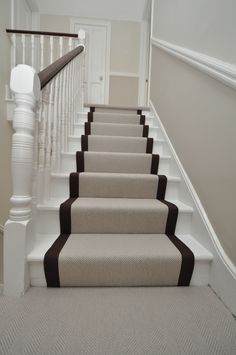 Exceptionnel 4 064 Flatweave Stair Runners Bowloom Flatweave Herringbone Carpet, Fitted Stair  Runners With Plain