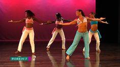 Cardio Samba Workout with Quenia Ribeiro - video program