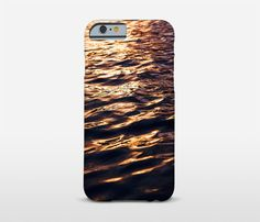 Sunset Photography Cell Phone Case Water by Macrografiks on Etsy