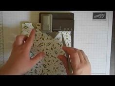 Using The Gift Bag Punch Board #2… |