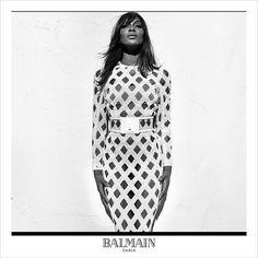 #NaomiCampbell for #Balmain's Spring Summer 2016 advertisement captured by fashion photographer #StevenKlein!