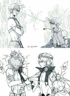 Conflict between Gil(s)