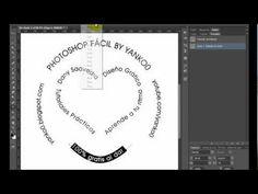 Texto en circulo y trazados Photoshop Fácil Yanko0 - YouTube