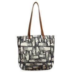 38b1d21595 A super sturdy large natural canvas tote bag with a block printed hands  print design in