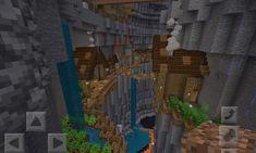 My attempt at a ravine transformation : Minecraft Minecraft Building Guide, Minecraft Farm, Minecraft Castle, Minecraft Plans, Minecraft Construction, Minecraft Tutorial, Minecraft Blueprints, Minecraft Crafts, Minecraft Cottage