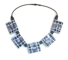 For this necklace I was inspired by my work in the editing department, where for…