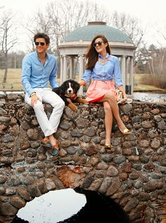 Classy Girls Wear Pearls: Stroll with Zeus Couple Style, Couple Goals, Sarah Vickers, Preppy Boys, Matching Couple Outfits, Matching Couples, Preppy Outfits, Cute Outfits, Summer Outfits