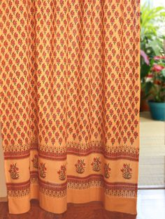I Love Indian Fabrics And Designs, And I Love This Color.