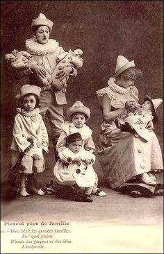 vintage - Pierrot