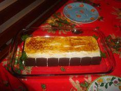 """Pavlova de amendoa servida com chocolate  """" Afther eight """""""