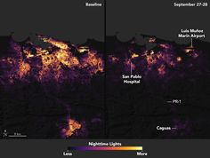 FOX NEWS: Puerto Rico's dramatic power loss shown in satellite photos