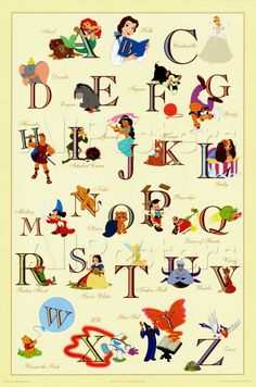 Disney Alphabet - disney Photo