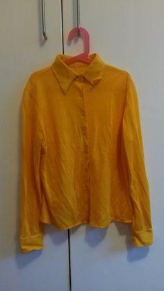 Gelbe Vintage Bluse Größe S - kleiderkreisel.at