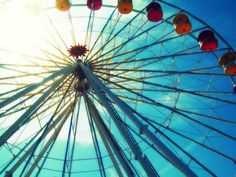 ferris wheels i wish i could ride on with @Rhonda Haralson