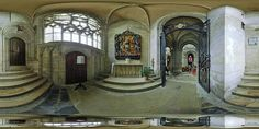 Une des chapelles de la cathédrale de Bayeux  -  France © Pascal Moulin