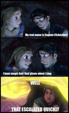 Tangled. Love that movie <3