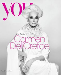 82 Year Old Carmen Dell'Orefice for You Magazine