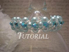 Right Angle Weave Bracelet with Swarovski Crystal Twisting Overlay Tutorial