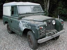 LAND ROVER SERIES 2 II 1960 VERY ORIGINAL FOR RESTORATION  SOLD
