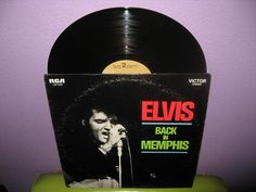 Vinyl Record Album ELVIS - Back In Memphis LP 1970 King of Rock-N-Roll Blues
