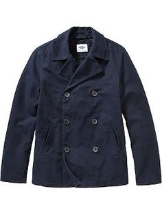 Men's Canvas Peacoats | Old Navy