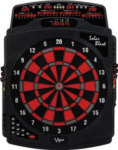 Viper Solar Blast Electronic Dartboard. The Viper Solar Blast Electronic Dartboard is the perfect gift for any dartboard enthusiast!