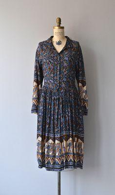 Bandipur dress 70s indian cotton dress vintage by DearGolden