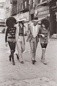 Harlem, New York Citiy, 1970´s (By Anthony Barboza)