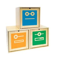 (11) Fab.com | Playful Wood Storage Boxes