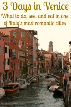 What to do, see, and eat in Venice, with limited time in one of Italy's most romantic cities. #Venice #Italy #Travel #Mediterranean #Explore #Photography #Canal #ItalianFood