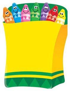 Colorful Crayons Trend Classroom Birthday, Toddler Classroom, Classroom Themes, Kindergarten Activities, Preschool, Crayon Bulletin Boards, School Frame, School Labels, Color Crayons