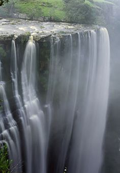 Magwa Falls, Wild Coast, South Africa  https://www.pinterest.com/mausby/south-africa-home-including-neighbours/