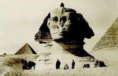 19th Century photo of the Sphinx