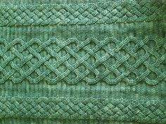 Can't believe this is crochet! Dave's Blanket closer by cable.freak, via Flickr