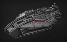 ArtStation - Battleship Titan , Renan Longatti