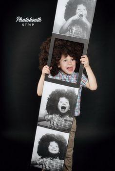 Photobooth photostrip costume boy Halloween costume