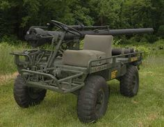 Mechanical Mule with a recoiless rifle oh yeah baby! Willys Mb, Army Vehicles, Armored Vehicles, Bug Out Vehicle, Military Weapons, Military Equipment, Usmc, Marines, Go Kart