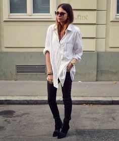 need an oversized white shirt
