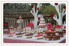 MESAS DULCES   Tartricia: tartas de diseño y otros dulces únicos
