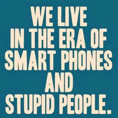 we live...
