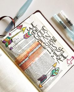 Bible Journaling by @colorsoffaith
