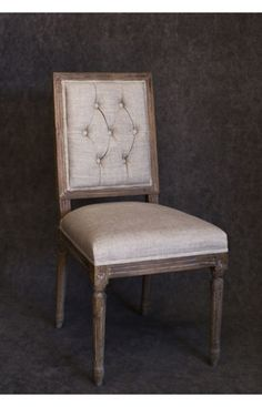 Vintage French Dining Chair Set of 2