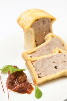 This is a rich meat pie recipe from Galton Blackiston that combines a veritable zoo of game meat--rabbit, venison, pheasant and partridge--with added sausage thrown in for good, delicious measure. Great British Bake Off, Great British Chefs, Wild Game Recipes, Uk Recipes, Savoury Recipes, Meat Rabbits, Raising Rabbits, Charcuterie, Food Photography Styling