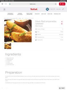 Mince Meat, Empanadas, No Cook Meals, Kitchenware, Snacks, Vegetables, Cooking, Breakfast, Easy