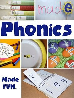 phonics for kindergarden