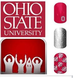 OH-IO. OHIO STATE. OSU. Jamberry nails. Jamberry nails. http://ShannonHowell.jamberrynails.net/