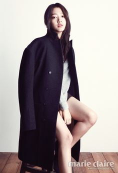 Park Shin Hye Marie Claire Korea February 2013 Look 4