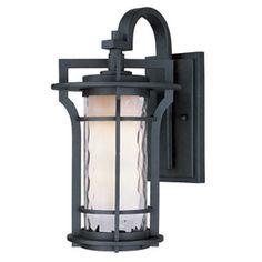 Oakville Black Oxide One Light Outdoor Post Mount Maxim Lighting International Post Mounte