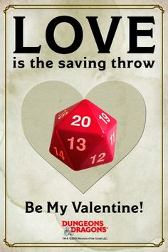 D&D Valentine's Cards
